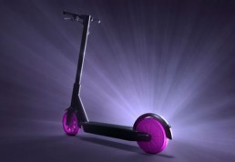 Lyft scooter, photo courtesy the company
